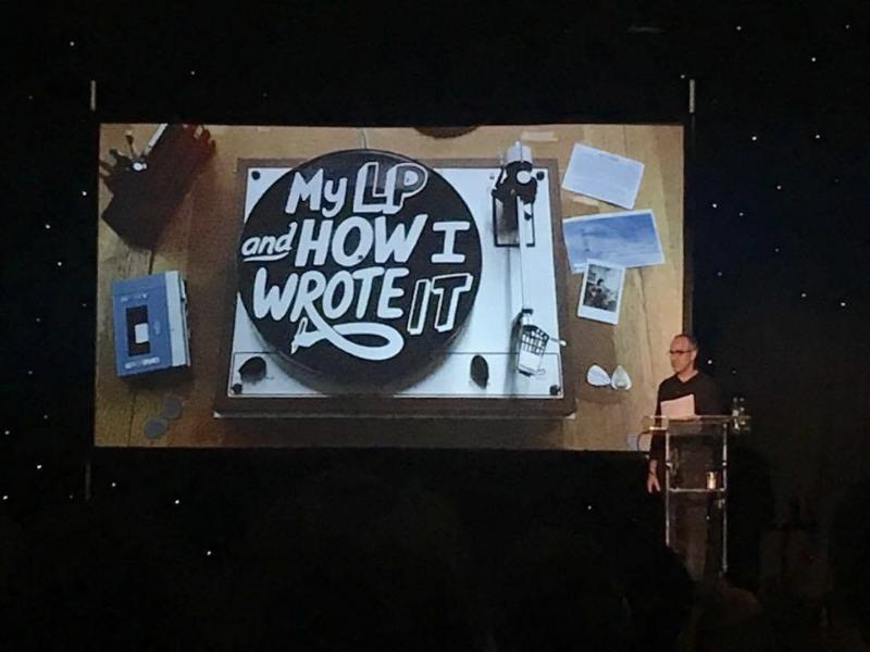 Naresh Ramchandani speaking at Manchester Design Festival