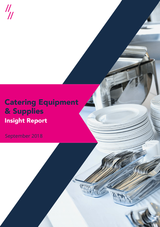 Catering Equipment Market Report front cover