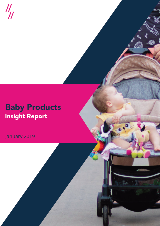 Baby products market performance report cover