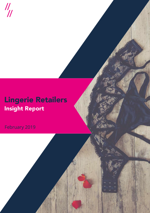 Lingerie Retailers sector report front cover
