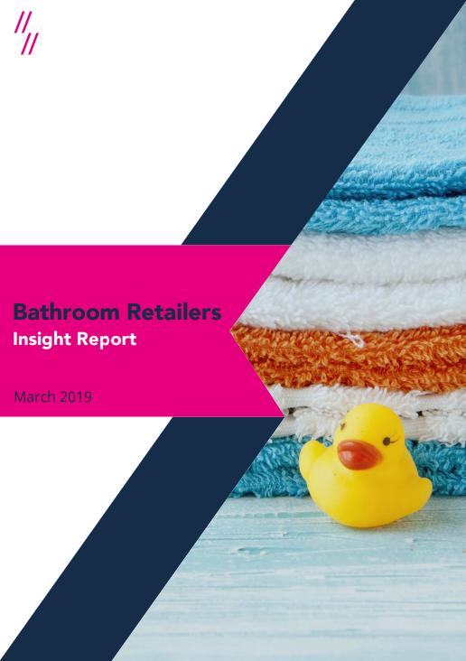 2019 Bathroom Market Report front cover
