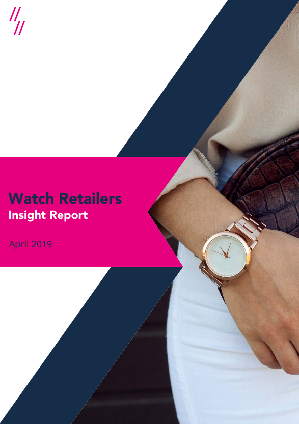 2019 Watch Market Report front cover