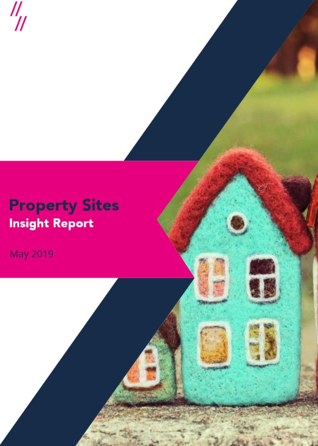 Estate Agent Market Report front cover