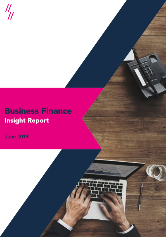 2019 UK Business Finance Market Report front cover