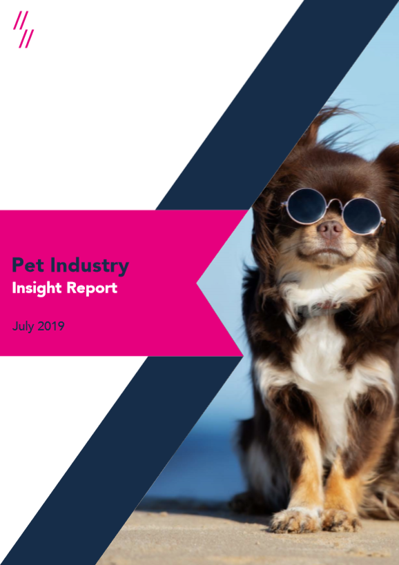 2019 Pet Supplies Market Report front cover