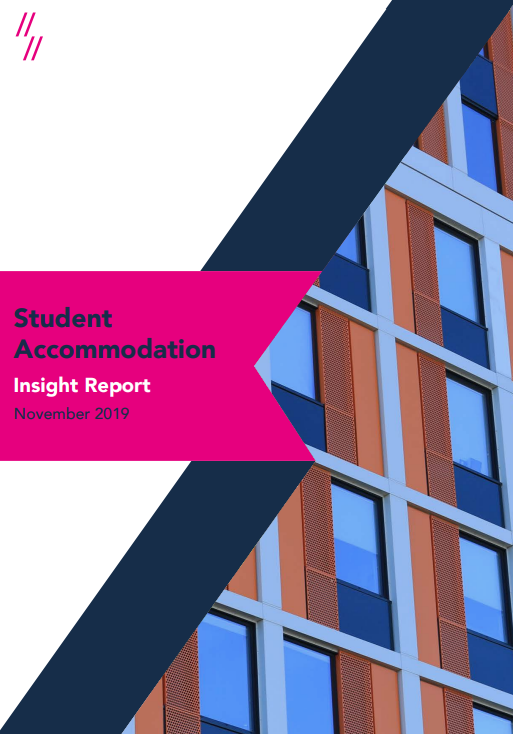 Student Accommodation Market Report 2020 front cover