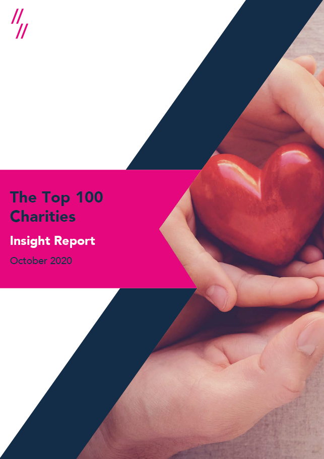2020 Charity Report Front cover