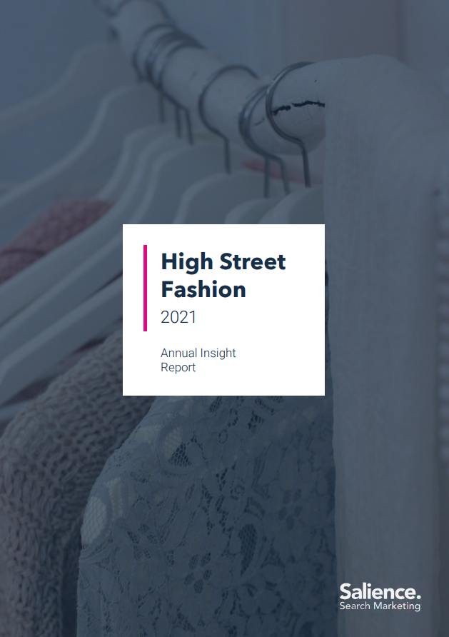 2021 High Street Fashion Market Report Front Cover