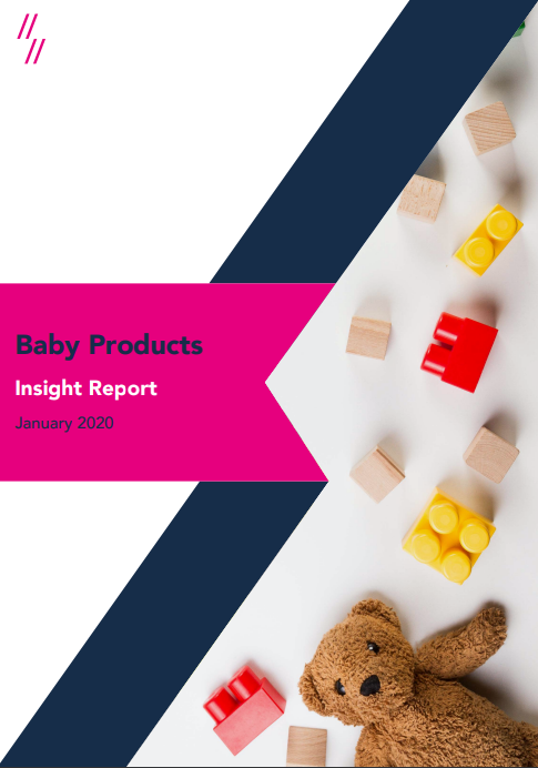Baby products market report front cover