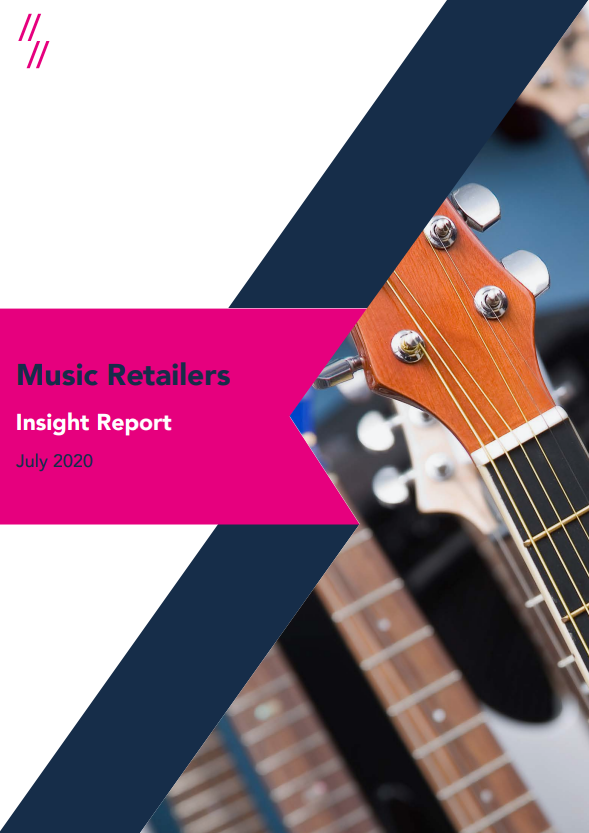 2020 Music retailers report front cover