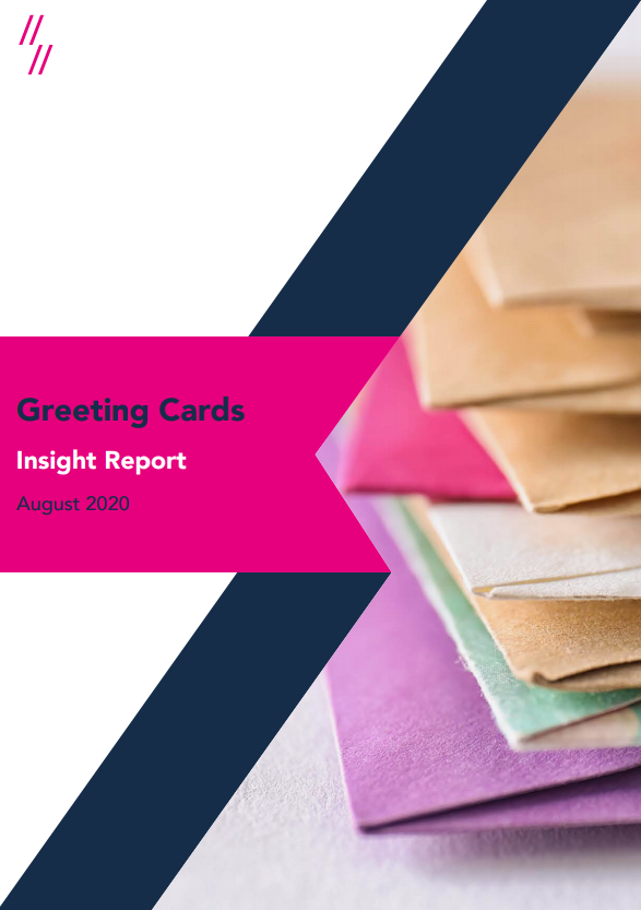2020 Greetings Cards Market Report Front Cover