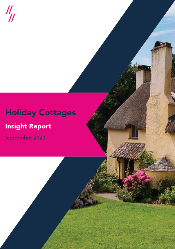 2020 Holiday Cottages Market Report Front cover
