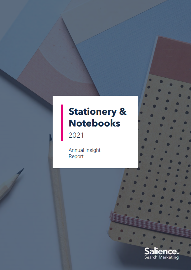 2021 Stationery Market Performance Report Front Cover