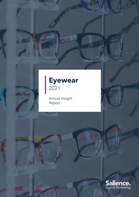 2021 Eyewear Market Report front cover