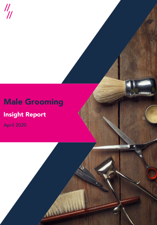 2020 Male Grooming Report Front Cover