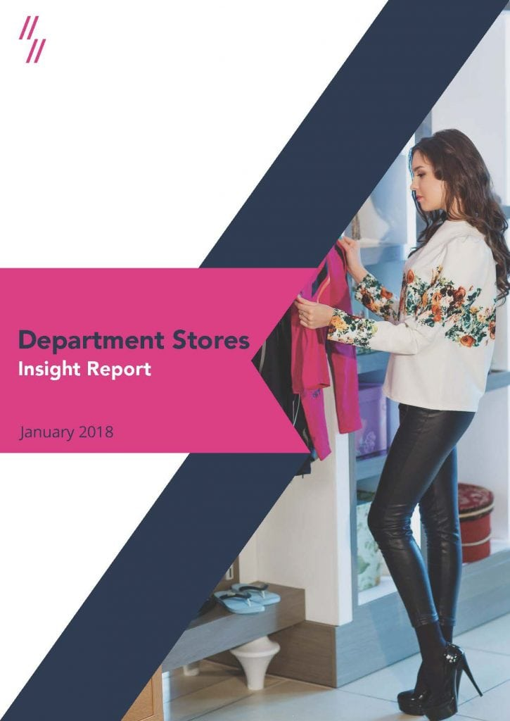 Department Store Market Report front cover
