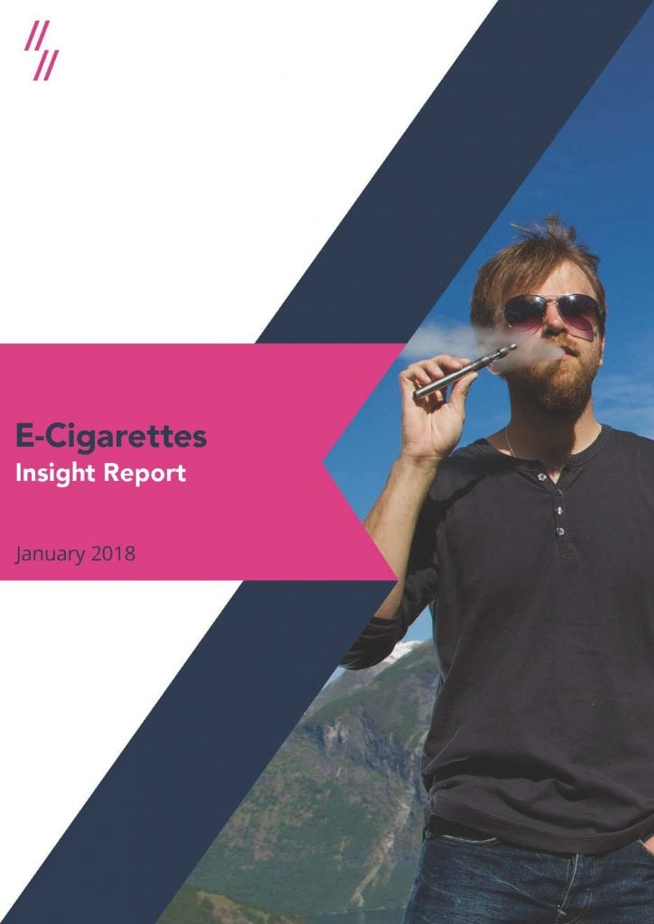 E-cigarette retailers market performance report cover