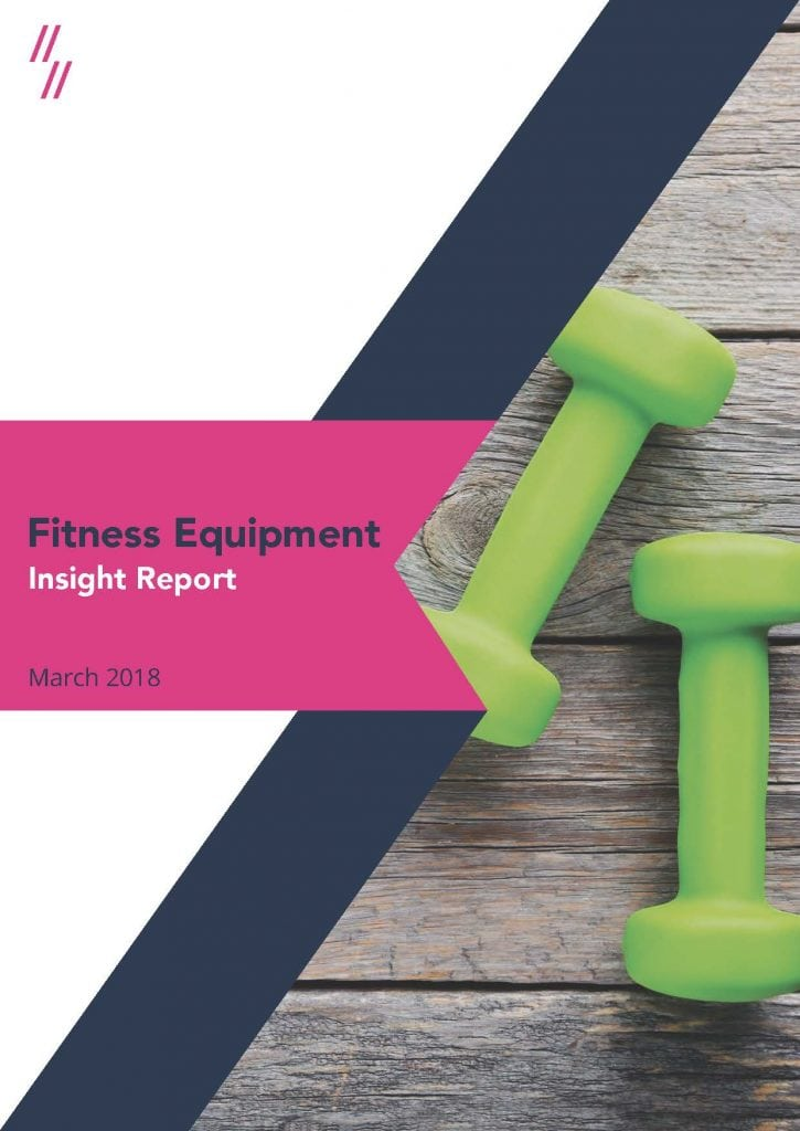 2019 Fitness Equipment Market Report Front Cover
