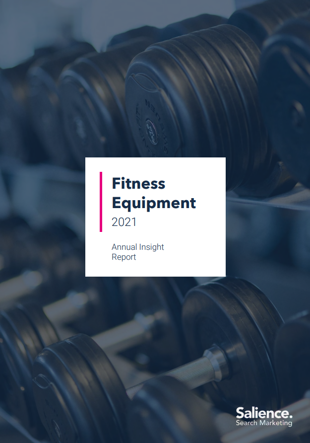 2021 Fitness Equipment Market Report Front Cover