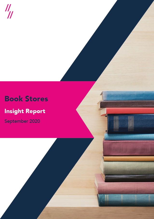 2020 Book Industry Report Front Cover