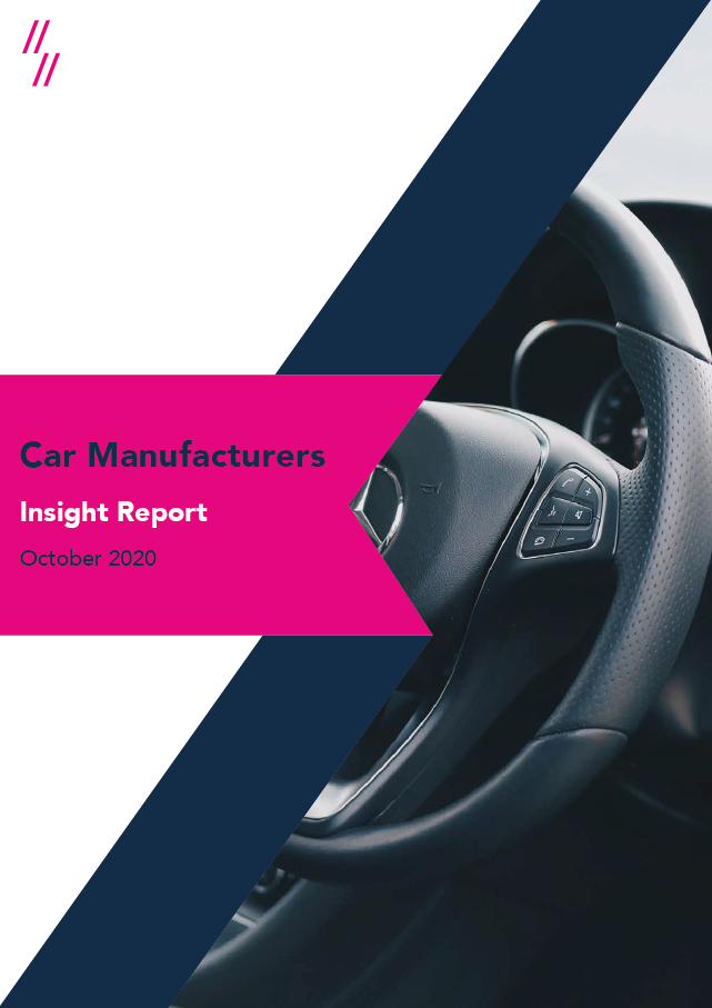 2020 Car industry report front cover