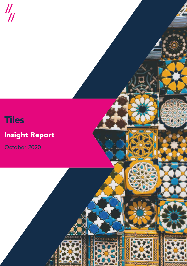 2020 Tile Industry Report Front Cover