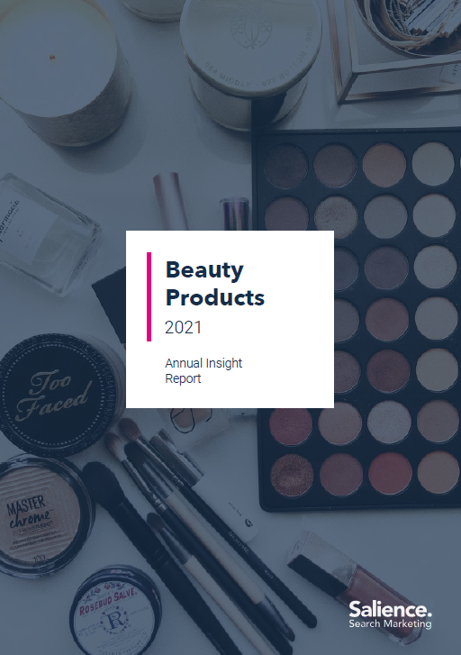 Beauty retailers market performance report front cover