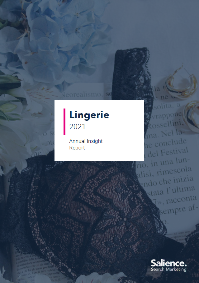2021 Lingerie Retailers sector report front cover