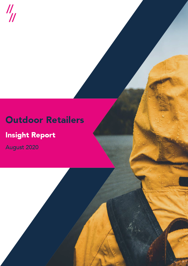 2020 Outdoor Clothing Market Report front cover