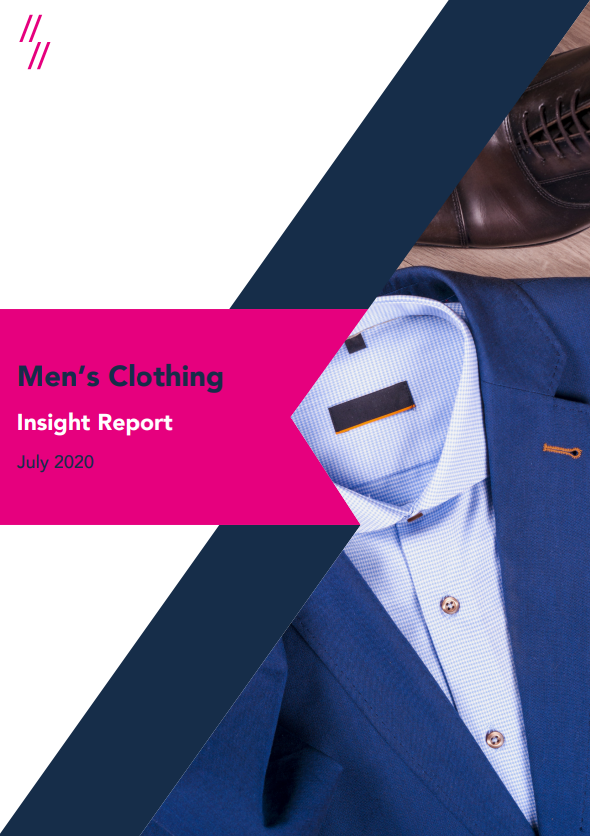 2020 mens clothing report front cover