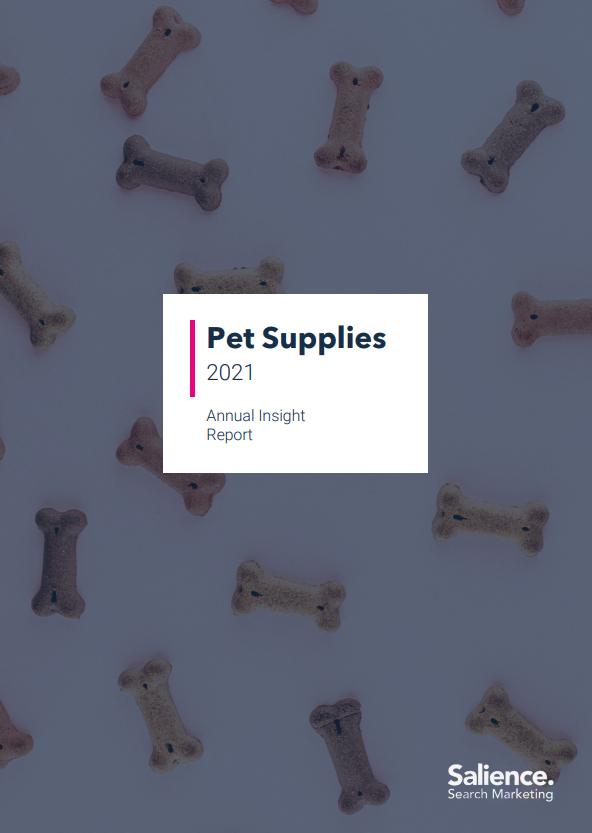2021 Pet Supplies Market Report front cover