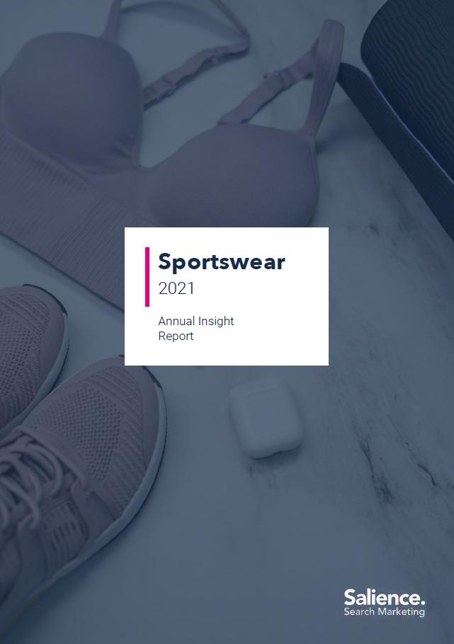 2021 Sportswear market report front cover