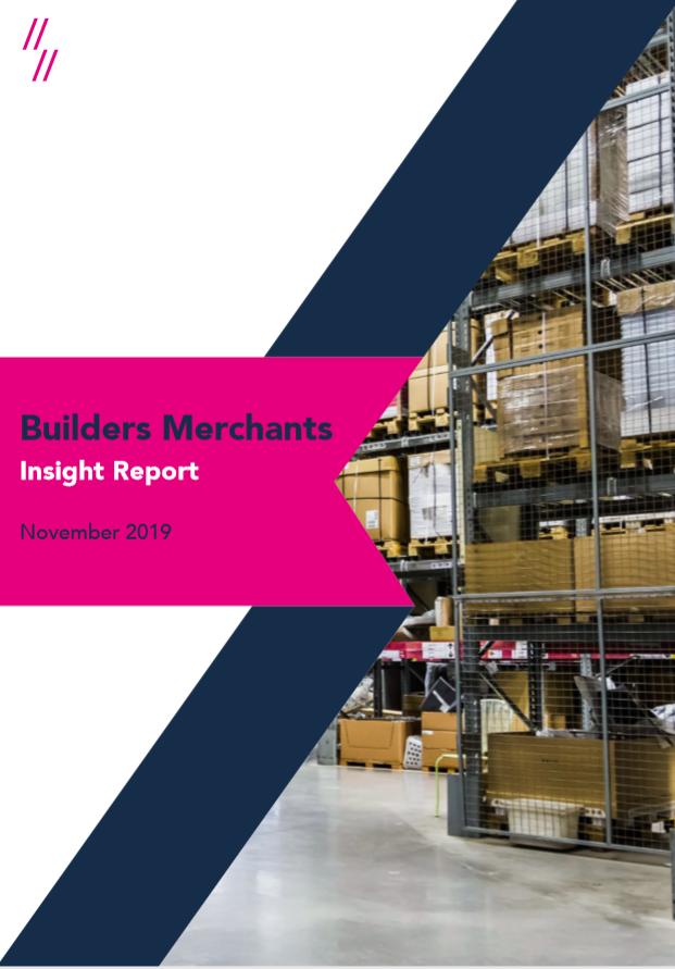 Builders Merchants Market Report - Front Cover