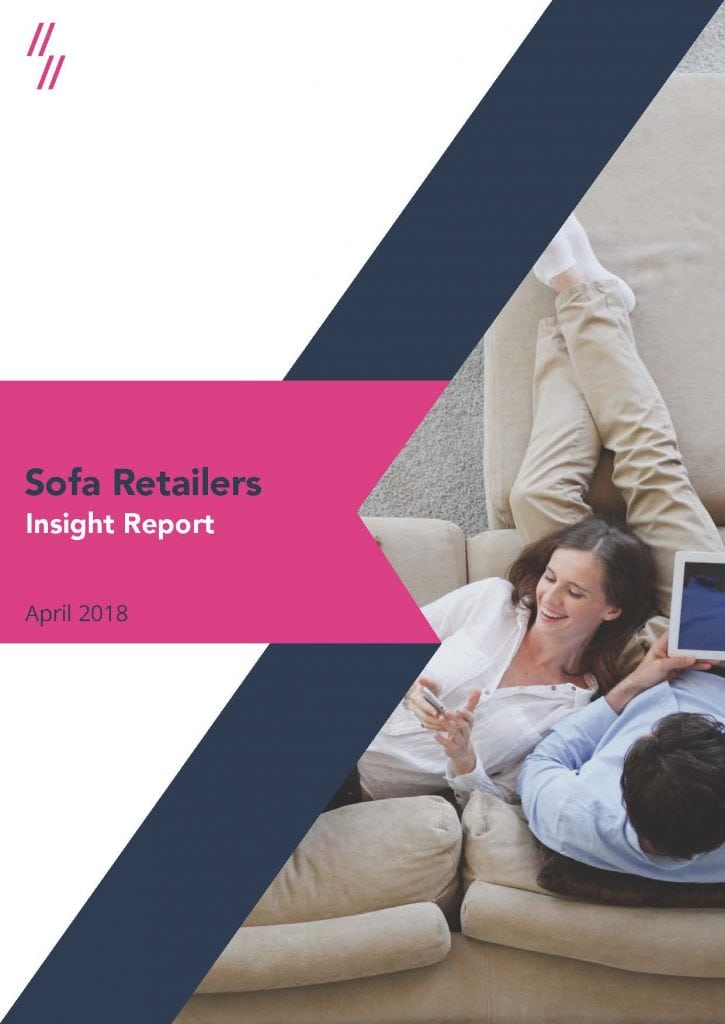 Sofa retailers market report cover image