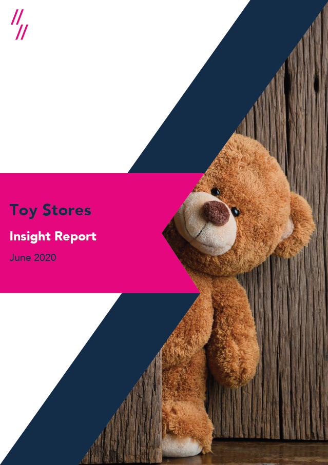 Toy Industry Report Front Cover