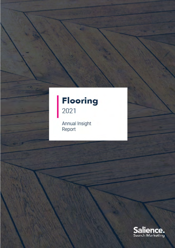 2021 Flooring Brands Performance Report front cover