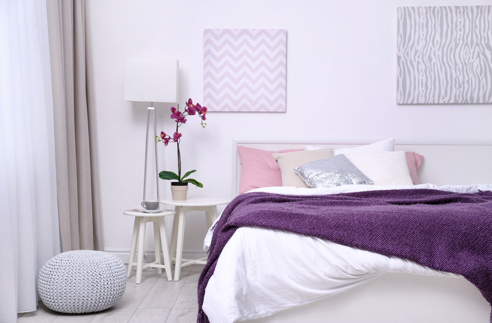 Pink and Purple Bedroom Colour Scheme